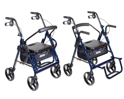 Drive Medical Duet Transport Wheelchair Rollator Walker  sc 1 st  Rollator Walker Review & Which Is The Best Rollator Transport Chair?
